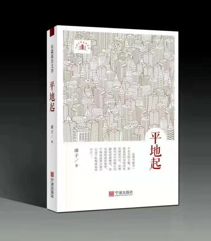 浙江作家浦子新书《平地起》出版发行
