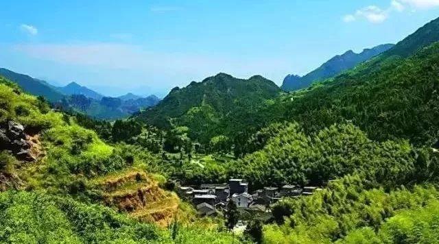 乐清海拔最高的村庄——大周山村,宛若世外桃源,...