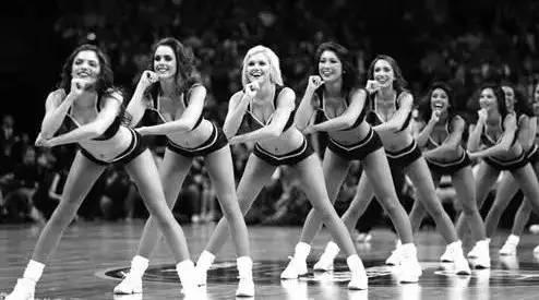 NBA啦啦队属于一种篮球文化,有她们才更动人!