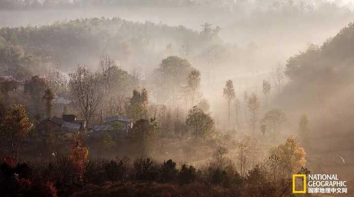 河南新县清冷之秋,与世无争的静美温暖了整个世界!