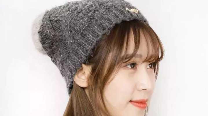 冬天的毛线帽怎么戴才好看?戴对戴错反差巨大! ...