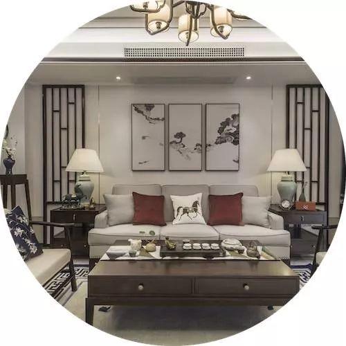 164平新中式四室改两室 卧室带多功能厅