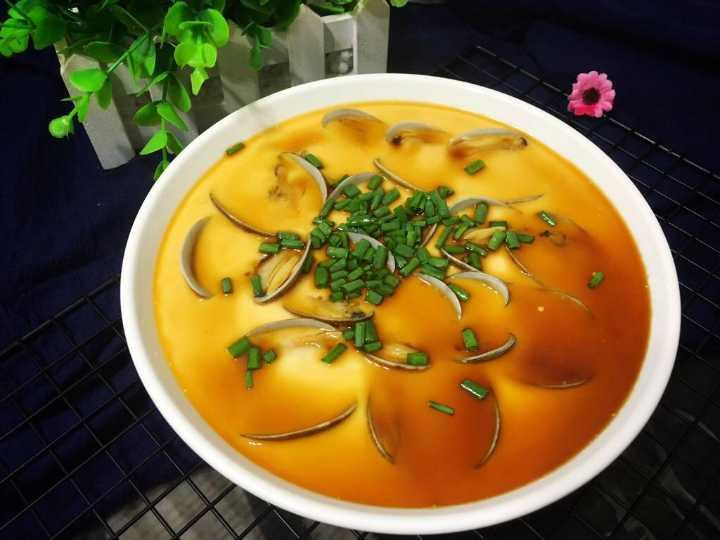 教你制作美味滑嫩的花蛤蒸蛋,吃这道菜我能吃五碗...