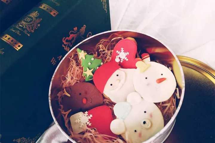 课程推荐|圣诞翻糖曲奇饼