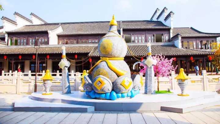 """江南水乡里出现了一座""""仙剑城"""",还能和李逍遥把..."""