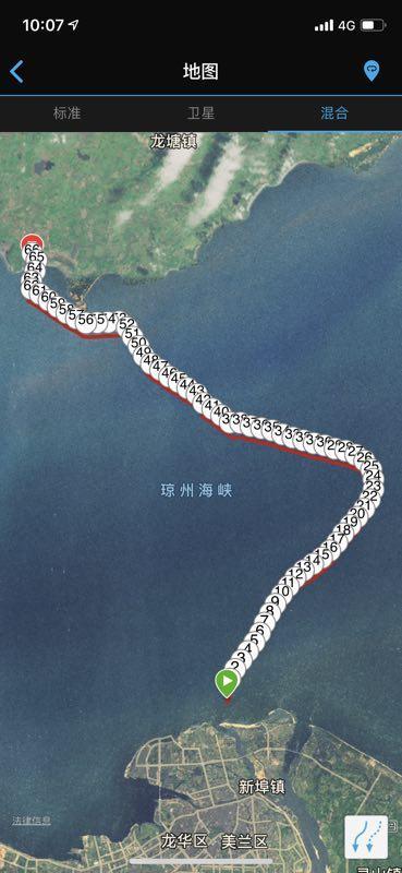 男子横渡琼州海峡:连续游泳10小时,含泪上岸