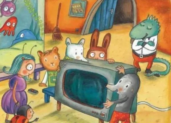 儿童睡前故事-《阿鼹和神奇电视机》