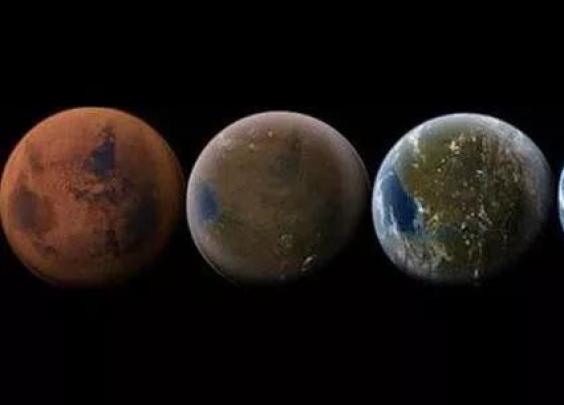 太空移民火星百年后是什么样子?人类或不需要呼吸...