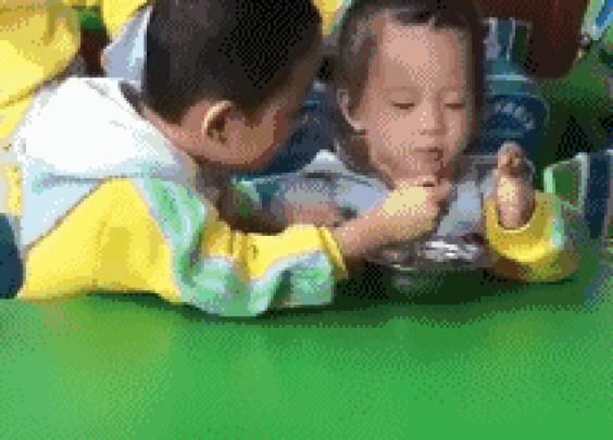 儿子在幼儿园总说吃不饱的原因。。。