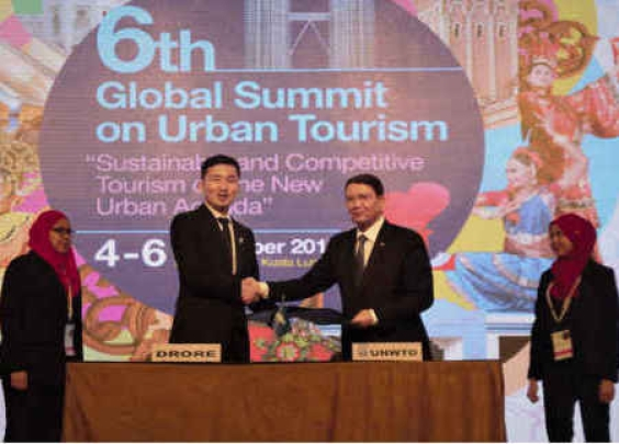 联合国世界旅游组织与卓锐科技签署战略合作协议