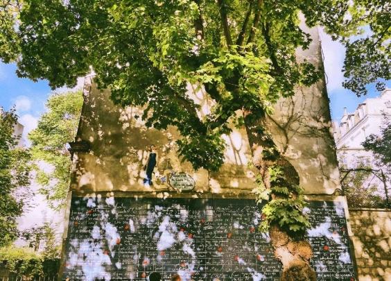 巴黎网红拍照圣地|有一面墙,写满了世界各地的我...