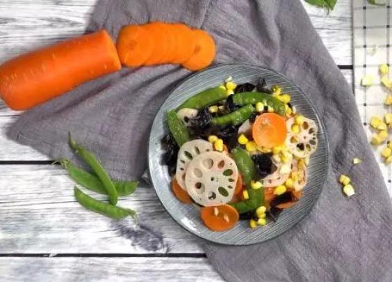 蔬菜也可以做的这么美!让你越吃越美!