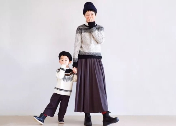 日系穿搭 | 学日本妈妈和宝宝这么穿亲子装,你...