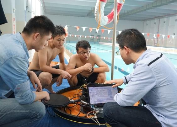 浙江大学牵头的水下直升机,萌萌哒像飞碟!