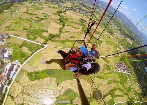 企业家跨界玩飞行,浙江省内滑翔伞基地达到九家