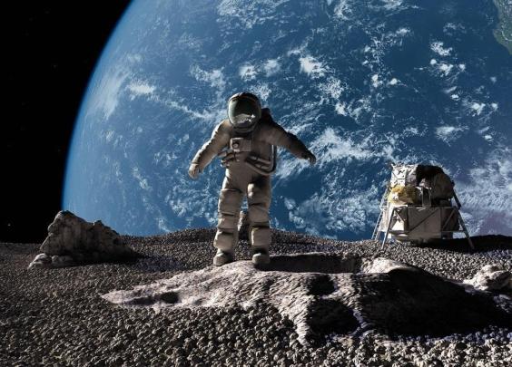 特朗普下令:美宇航员将重返月球,并前往火星