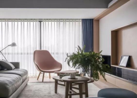 哇!低调清新设计,现代+北欧搭出超有质感的家!