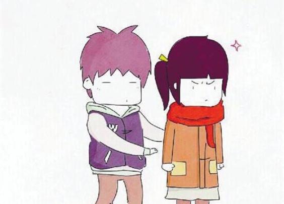 今天的好男友题: 下雪了,女朋友走路的时候发给...