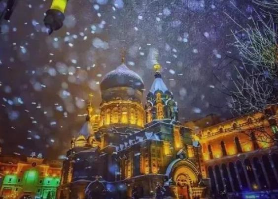 来哈尔滨,满足你对冬天冰雪、光影的全部遐想!