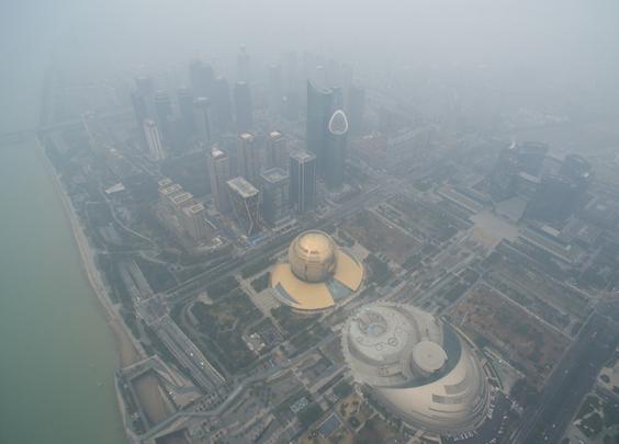 杭州启动今年第1次大气重污染Ⅳ级预警