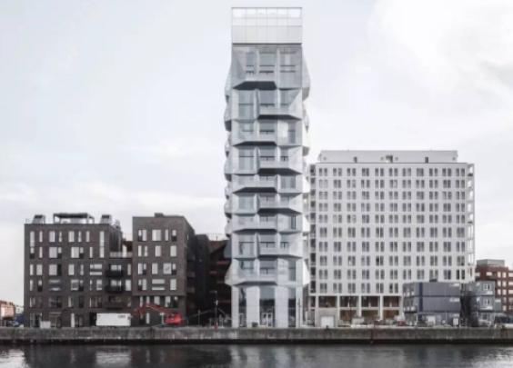 北欧粮库爆改成公寓楼,毛坯的样子比精装更帅气!
