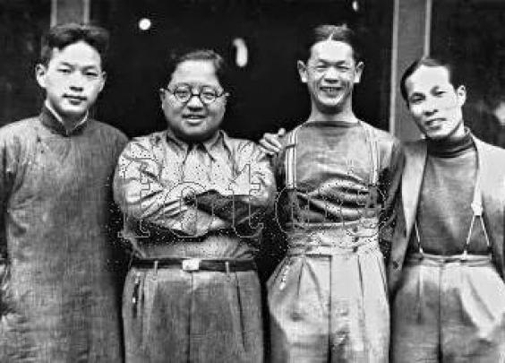 1930年代,上海穿着打扮深受同时代美国人的影...