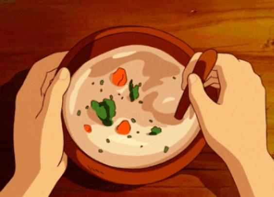 """""""我舀一碗汤给你喝吧"""""""
