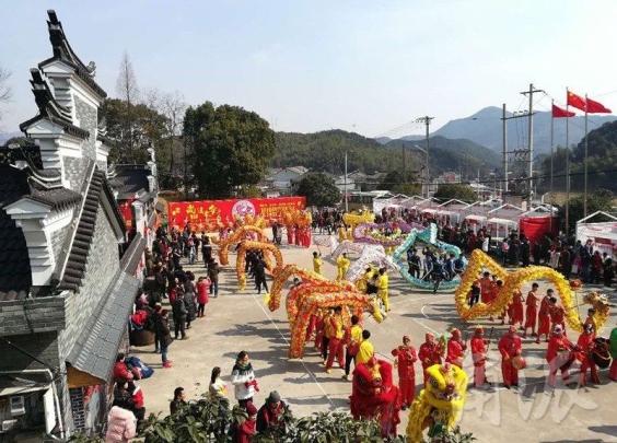 100名外国友人,宁波鸣雁村提前过起中国民俗年