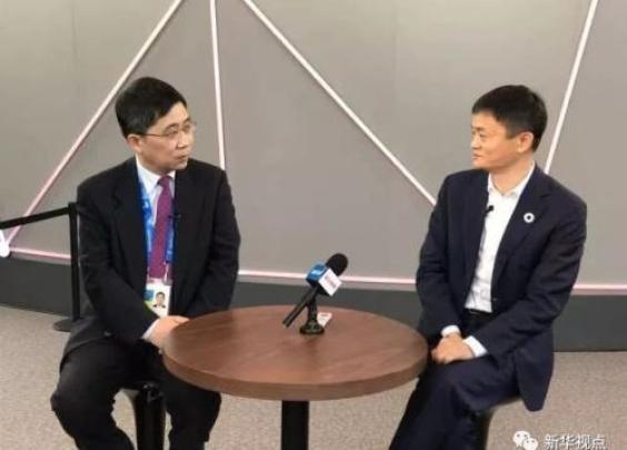 新华社记者问马云:您和马斯克谁更厉害?他这样回答