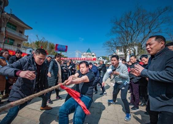 这个春节,常山乡乡有农动会,村村有运动员