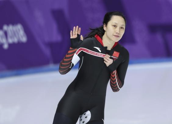 速滑女神暂别冰场,中国期待下一道彩虹
