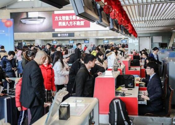 杭州机场春节期间客流连创新高