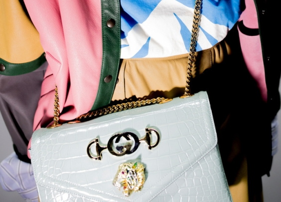 Gucci最新一季的包包也是美到不行了 