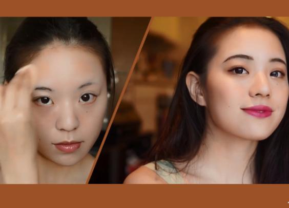 【易烫】少见的古典清丽日常淡妆,灵感来自于刘亦...
