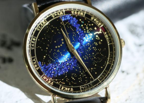 【北极恒星图手表】设计来源于故宫博物院藏品:紫...
