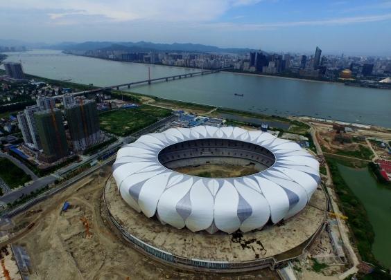 亚组委:确保5个新建场馆和亚运村今年开建