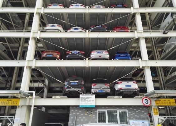 脱检近15个月!杭州质监今年首次封停立体停车库