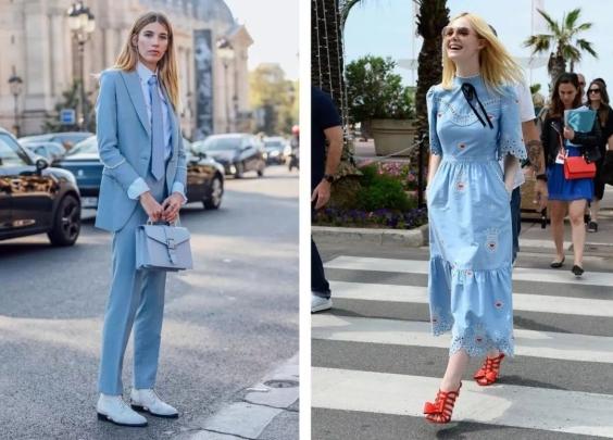 最美最好穿的春夏流行色是哪些?让时博的早春街拍...