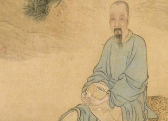 清代禹之鼎所绘《云山烂漫图卷》
