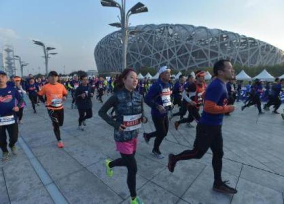 一路跑进鸟巢,久等的北京鸟巢半程马拉松开始报名...