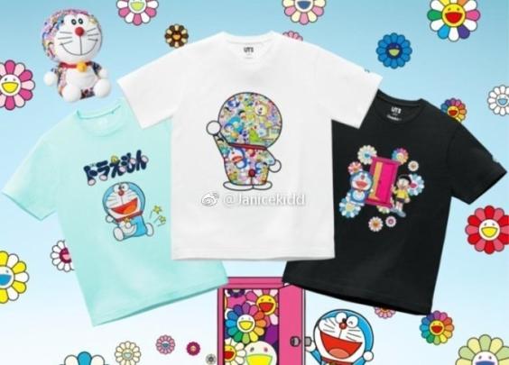 UNIQLO UT 推出「哆啦A梦UT」系列
