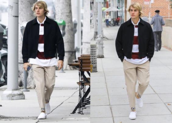 Justin Bieber 街拍合集