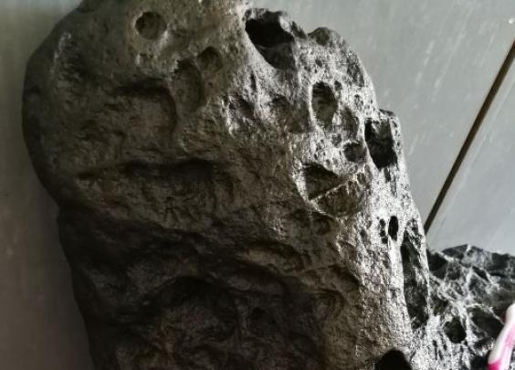 【晨读】温州男子大别山捡到怪石,是陨石?