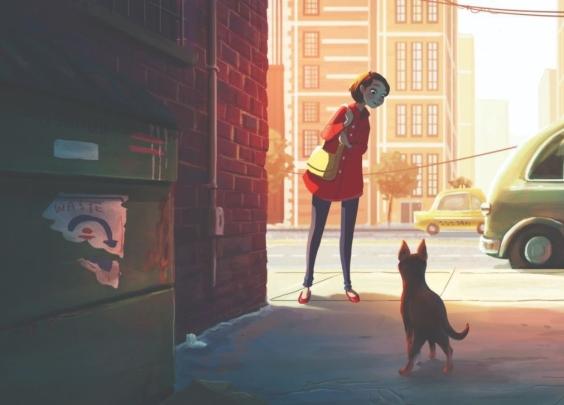 朋友圈暖心漫画:一个女人最舒服的生活状态